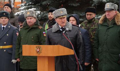 В Калуге новобранцы вч 6681 приняли военную присягу